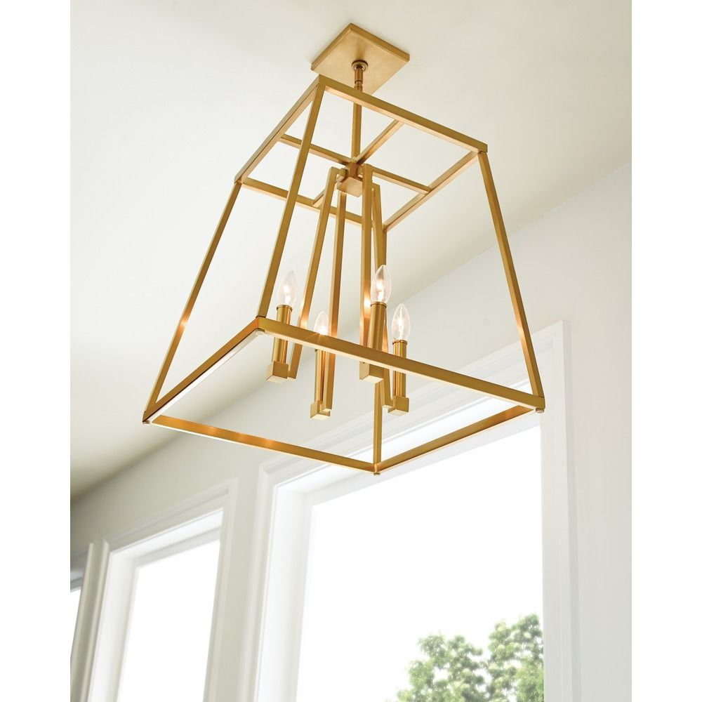 Feiss Lighting Conant Gilded Satin Brass Pendant Light  sc 1 st  Pinterest & Feiss Lighting Conant Gilded Satin Brass Pendant Light | Pendant ...