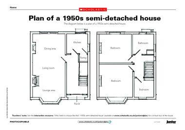 1950 S Semi Detached House