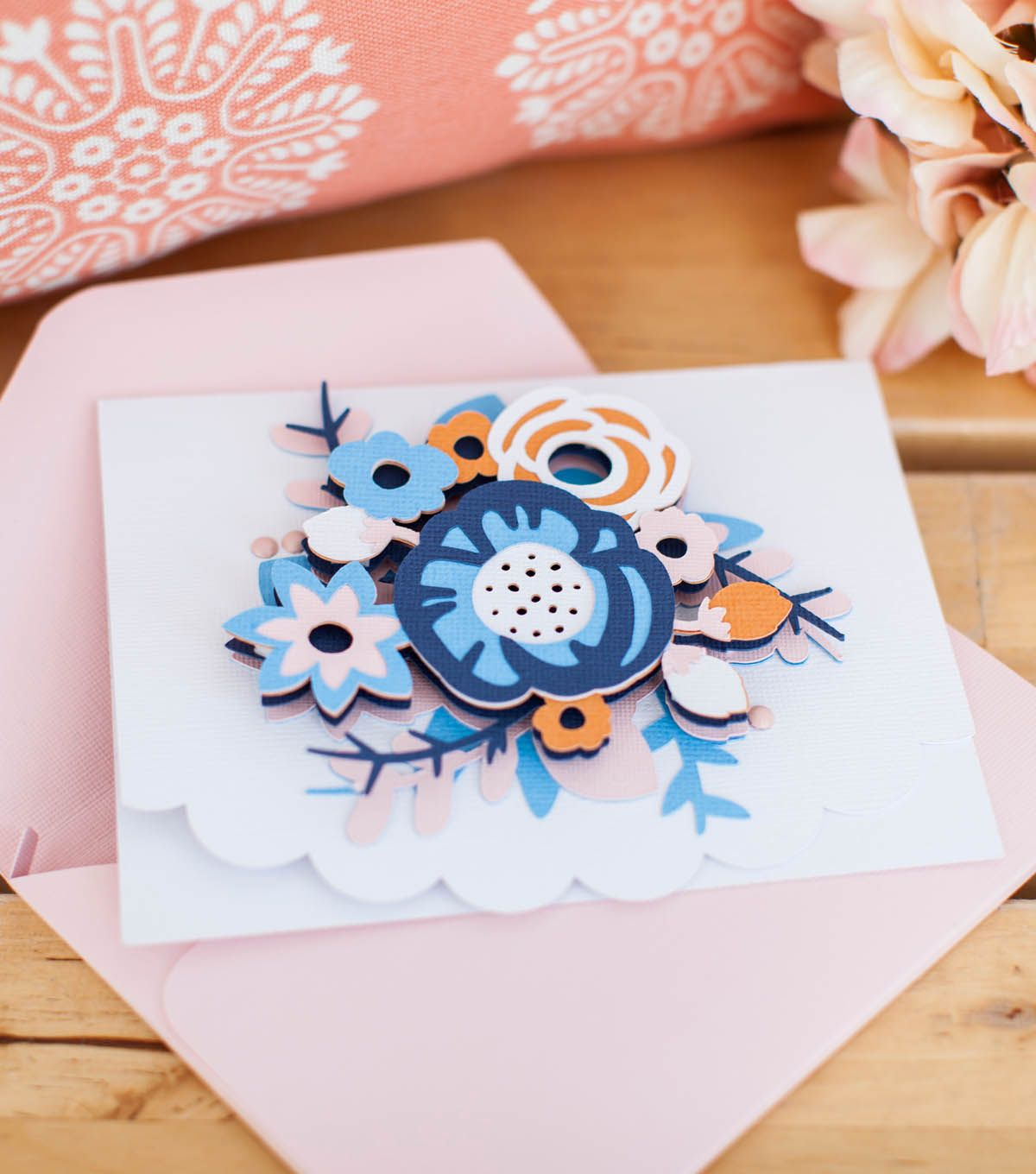 Make a dimensional flower card paper craft pinterest make a dimensional flower card kristyandbryce Images