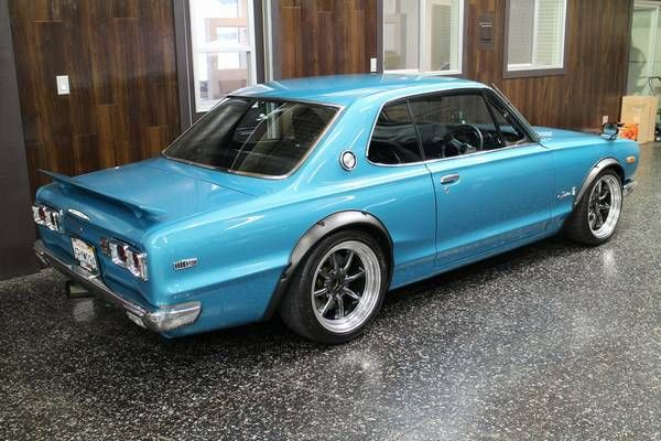 Turbo Restomod: 1972 Nissan Skyline   Nissan skyline ...  1972 Nissan Skyline Jdm