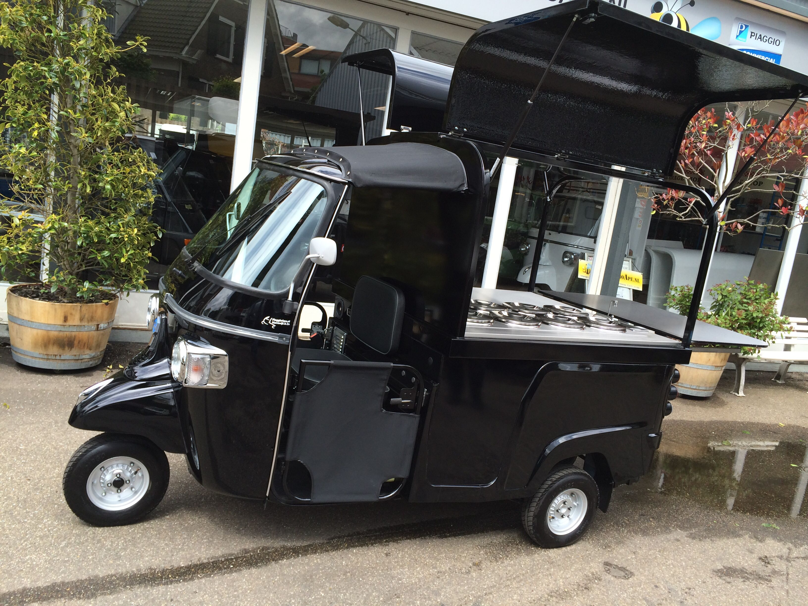 piaggio ape calessino 200 fly with ice-cream unit | piaggio ape