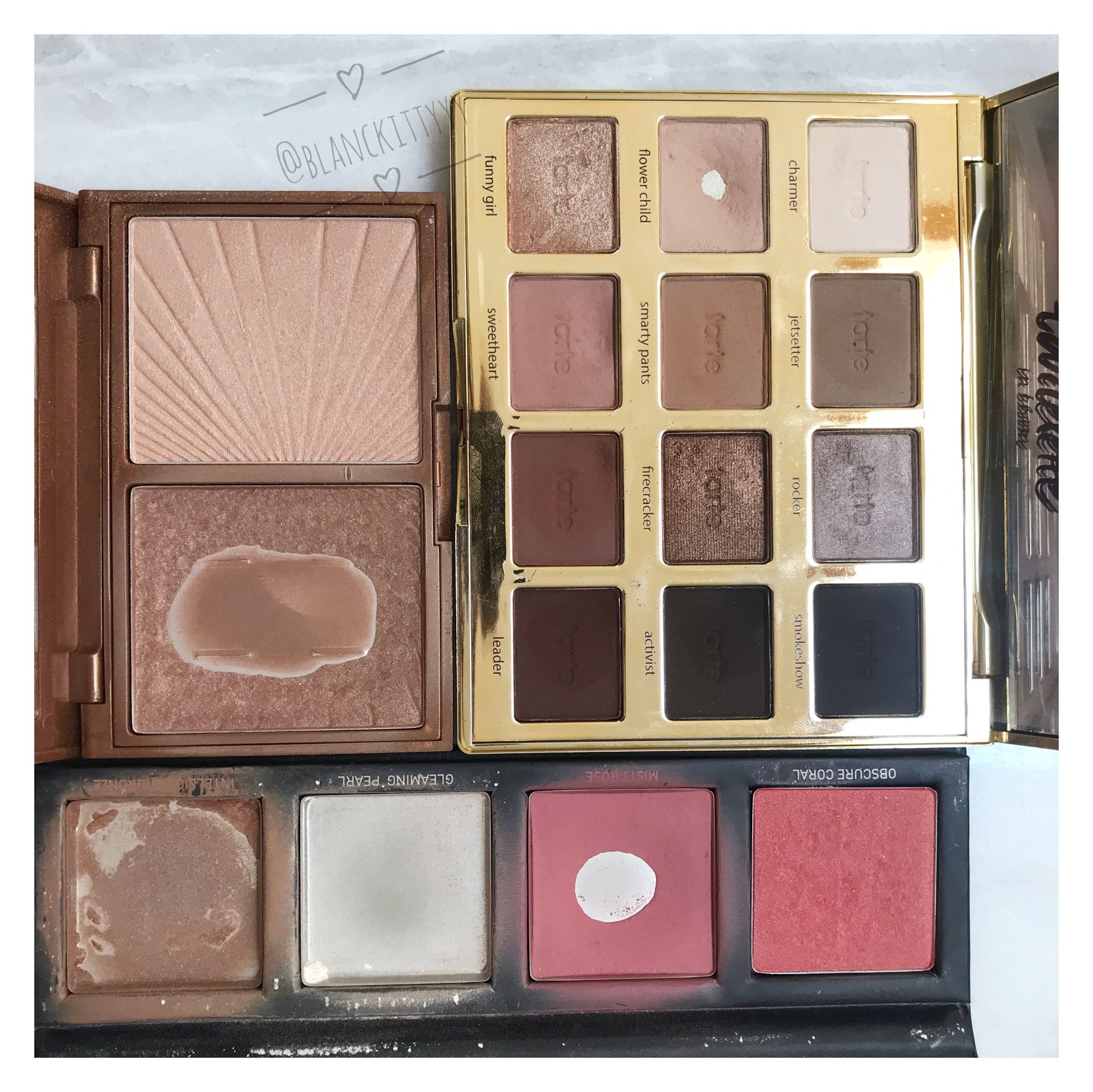 Pan Project Progress Tartelette In Bloom Happy Sunday Bronzed Glow