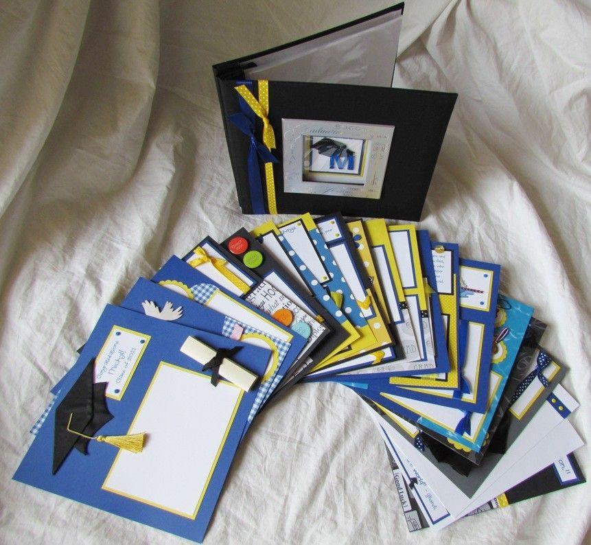 Graduation Scrapbook Premade Custom Graduation 8x8 Album Class
