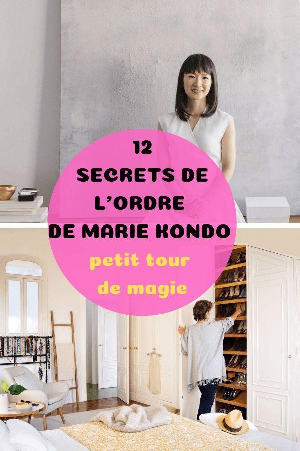 LES SECRETS DE L'ORDRE DE MARIE KONDO