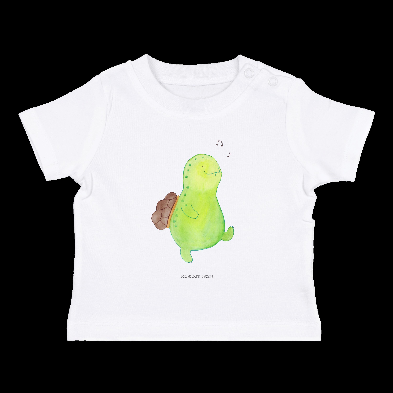 18-24 Monate Baby T-Shirt Schildkröte pfeift