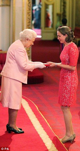 Nicola Byrom, 28, from Oxford, was recognised for her work improving student mental health...