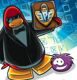 OMG ITS CHUCK IN CLUB PENGUIN! SO THAT MAKES IT CLUN PENGIUNCRUM!
