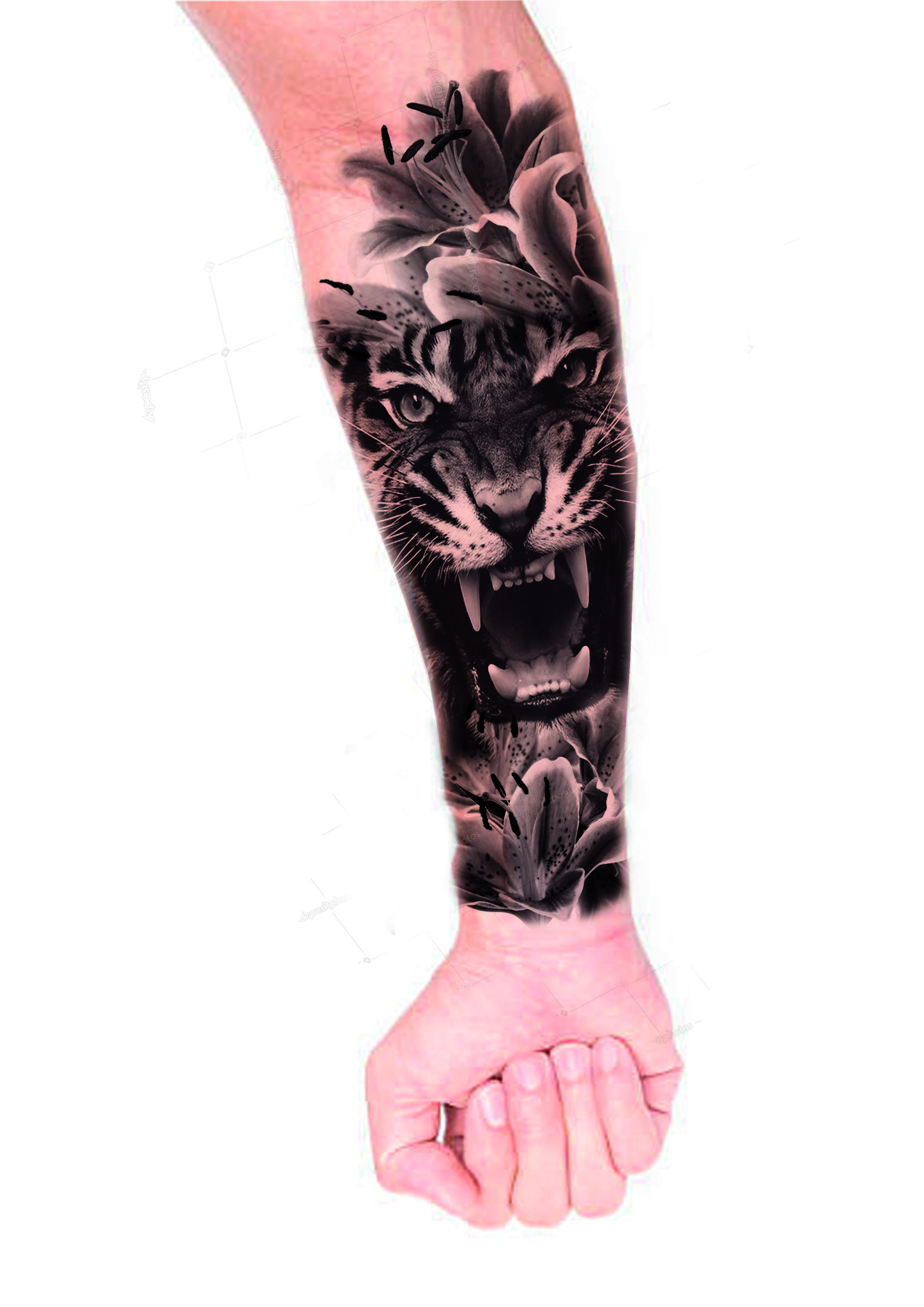 Hombre Tatuajes En El Antebrazo