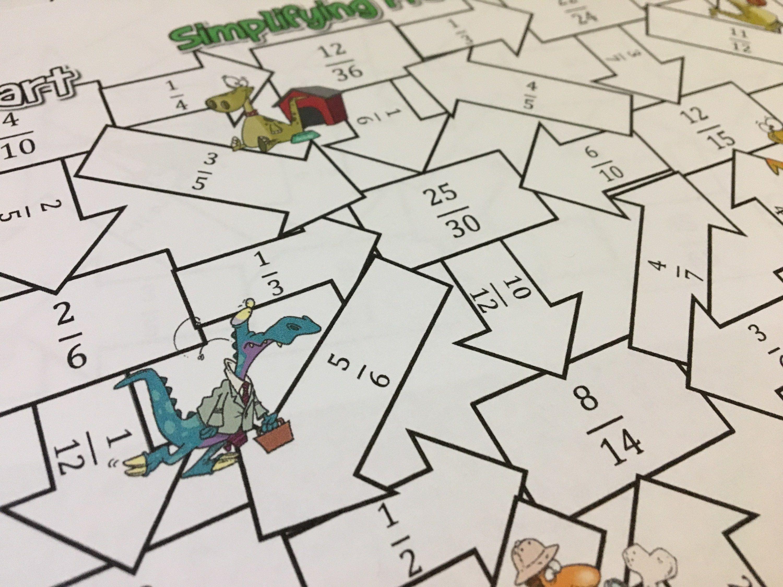 11 Super Fun Activities For Simplifying Fractions Simplifying Fractions Fraction Activities Fractions