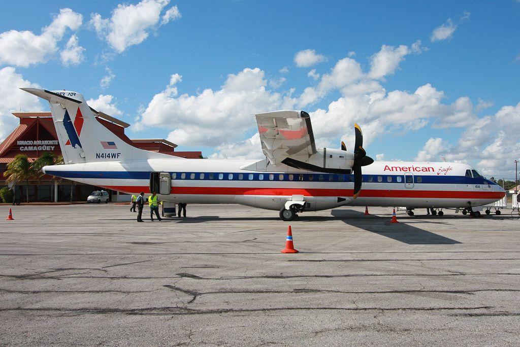 American Eagle Avions de Transport Régional ATR72212