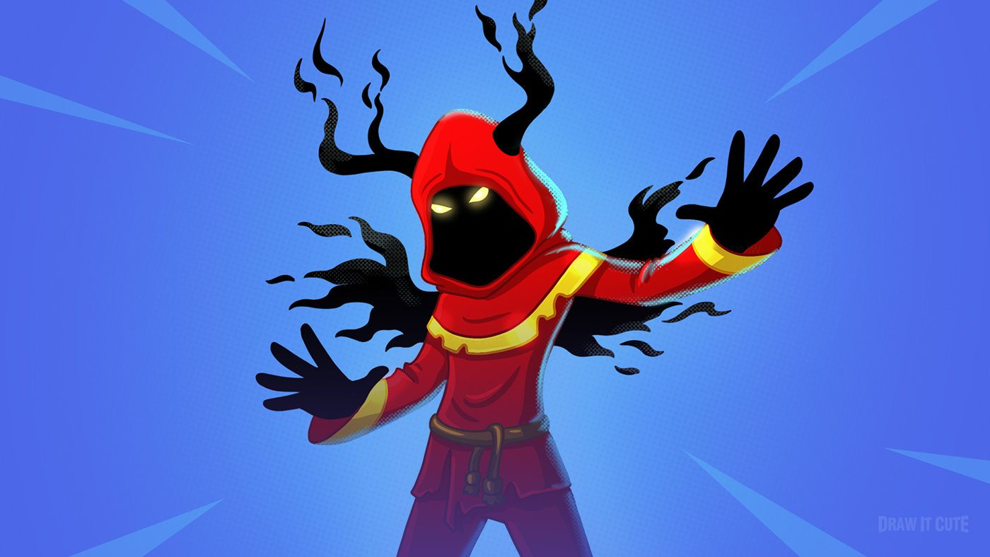 How To Draw Cloaked Shadow Ewasy Fortnite Season 7 On Behance