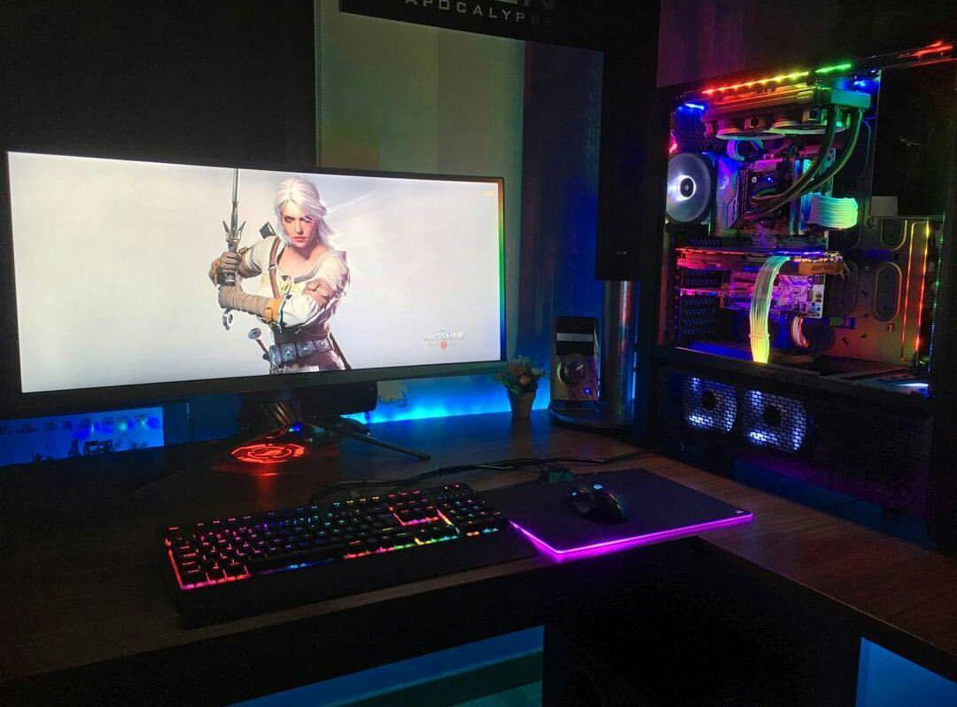 Pc gamer schreibtisch  Pin von Joan cruz auf PCs Gaming & Tunning | Pinterest | Möbel