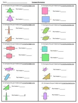 Compare Perimeters Of Two Polygons With Images Find The