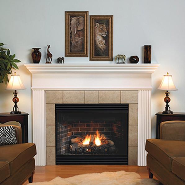 Empire Keystone Premium 42 B Vent Gas Fireplace Bvp42fp In 2020 Vented Gas Fireplace Gas Fireplace Cottage Style Kitchen