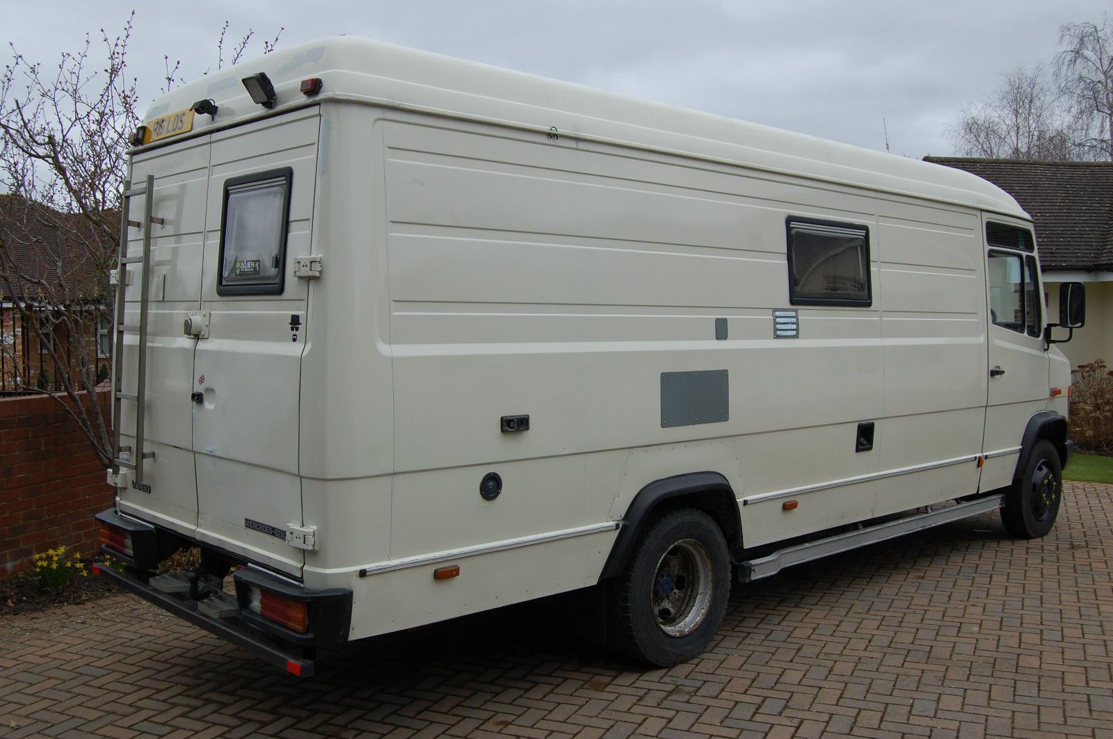 a9135ad8b2 Mercedes Benz Vario 814D LWB Expedition Overland Camper Van Motorhome Race  Truck in Cars