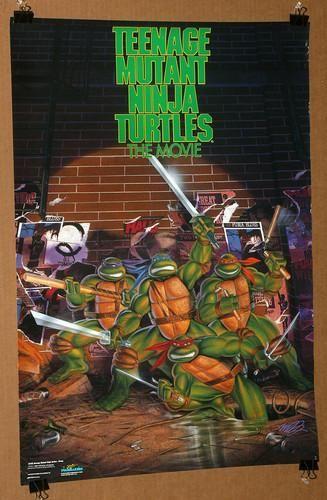 Original Tmnt Movie Poster Tmnt Tmnt Turtles Tmnt Movie
