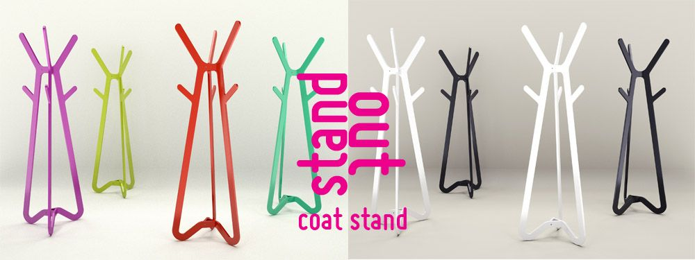 Stand out- simply a stand out statement in coat stand form Luxxbox - statement form