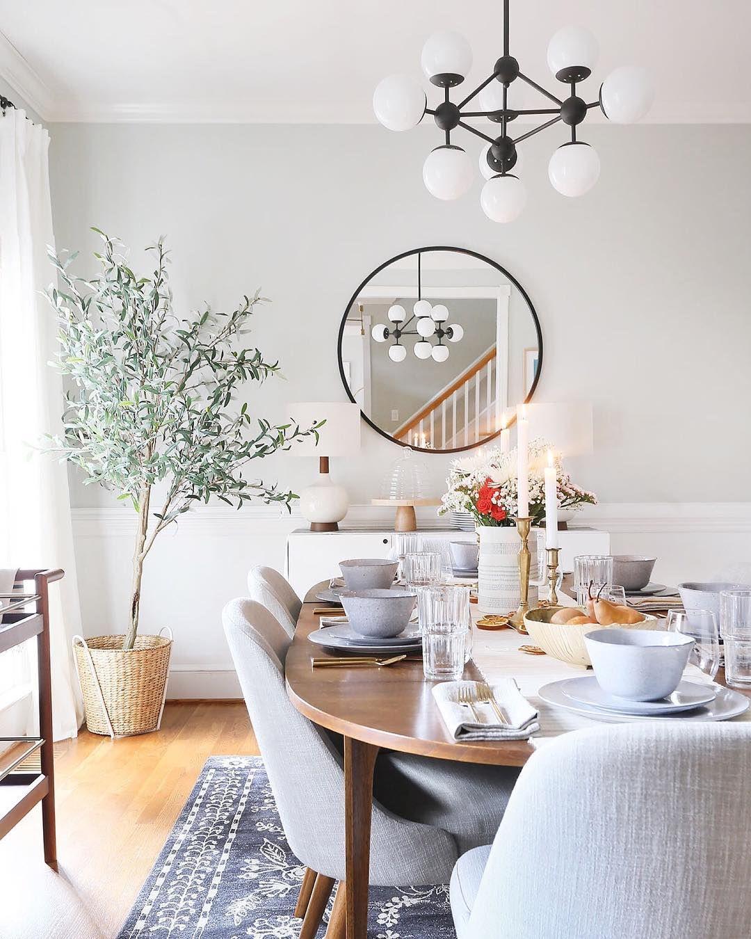 19 Urban Dining Room Designs Decorating Ideas: Today On The Blog, I'm Sharing My Warm, Modern, Organic