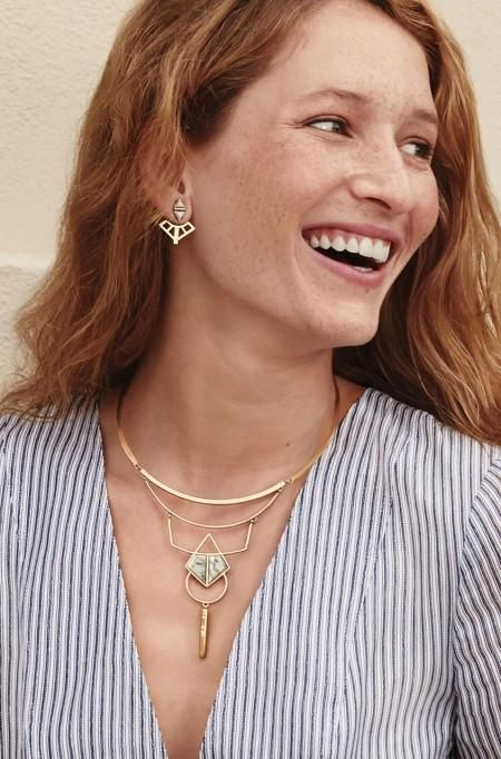Mondrian Ear Jacket | Stella & Dot