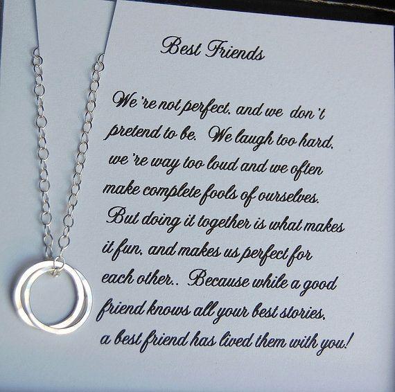 Gift For Best Friend Bridesmaid Card Best Friend Gift Friendship