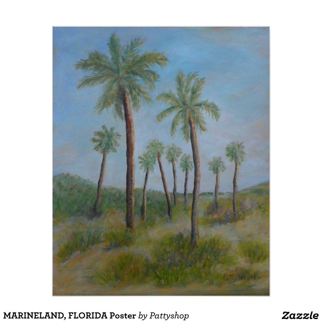 MARINELAND, FLORIDA Poster