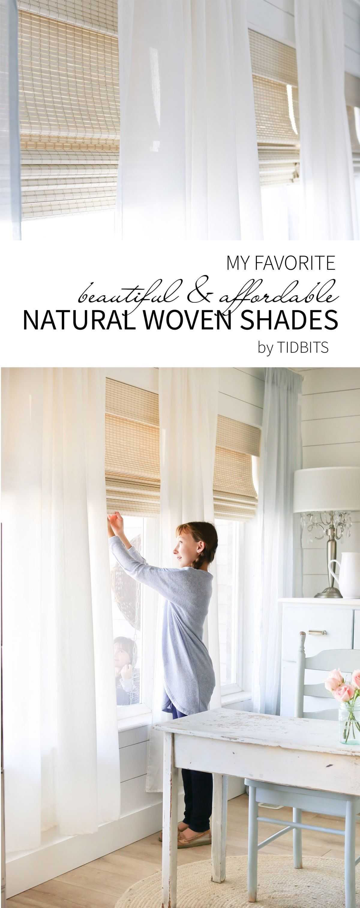 Our beautiful natural woven shades best bloggers board pinterest