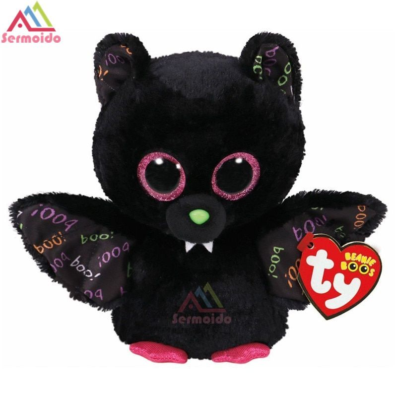 5b445e155ff ... sermoido TY 6   Beanie Boos Dart the Bat Plush Collectible Plush  Regular Stuffed Animal Collectible Soft Doll Toy DBP69