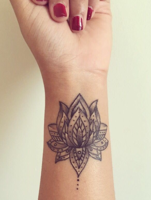 Wrist Tattoo Tattoos Lotus Lotustattoo Tattoos Tattoosforwomen