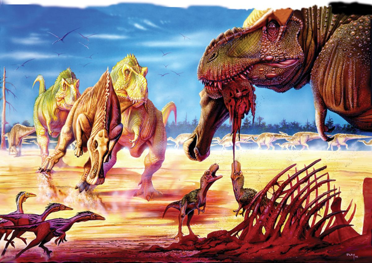 Cretaceous rodeo aka t rex family life dinos and paleo for T rex family