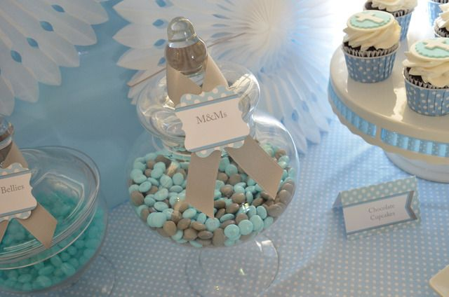 """Photo 6 of 19: Baby Blue and Silver (Grey) / Baptism """"First Communion"""" 