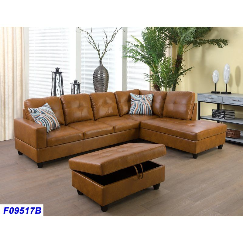 Pin By Nina Tran On New Home Faux Leather Sectional Leather Sectional Sofa Faux Leather Sofa