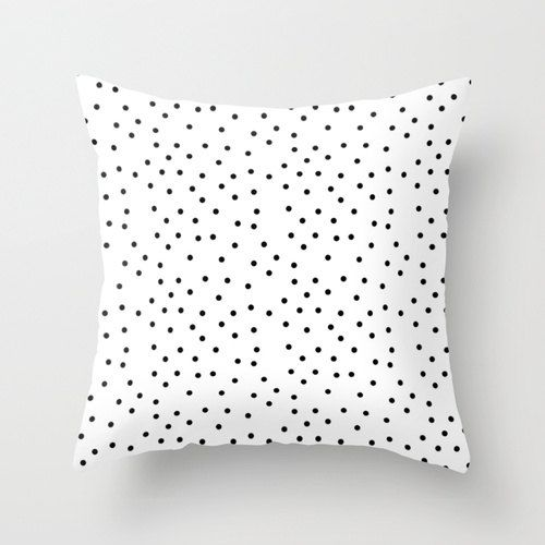 Polka Dot Pillowcases New Black And White Polka Dot Pillowcases  Scandinavian Office Pillow Decorating Design