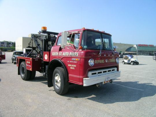 Coe Ford Classic Wrecker Tow Truck Truck Transport Truck Cranes