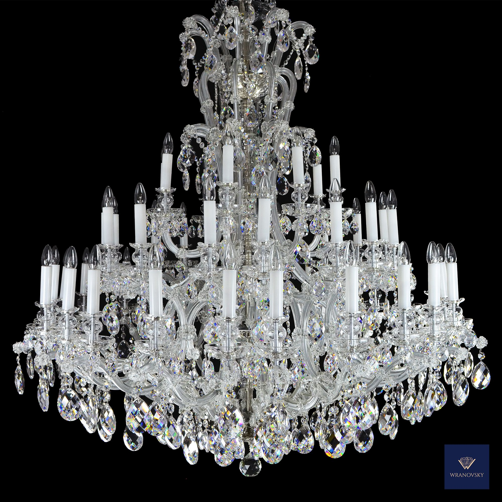 All Our Maria Theresa Chandeliers Are Made In The Traditional