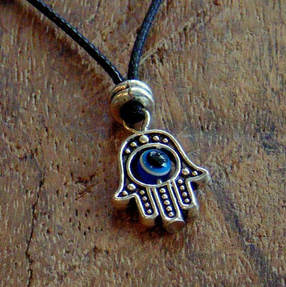 Mens hamsa necklace, men black necklace, men surfer necklace, hamsa pendant, gift for him, luck , jewelry for men, protection ,free shipping #streetstyle #mensphotography #mens2016 #mensSs16 #mensclassy #mensdetails #menstailoring #menssportwear #mensclassic #menstrends