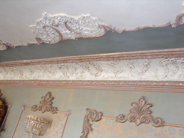 Louis XV side ornament