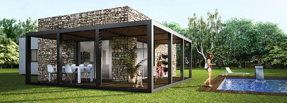 Casas prefabricadas modulares 978 351 mini casas - Casa prefabricadas modulares ...