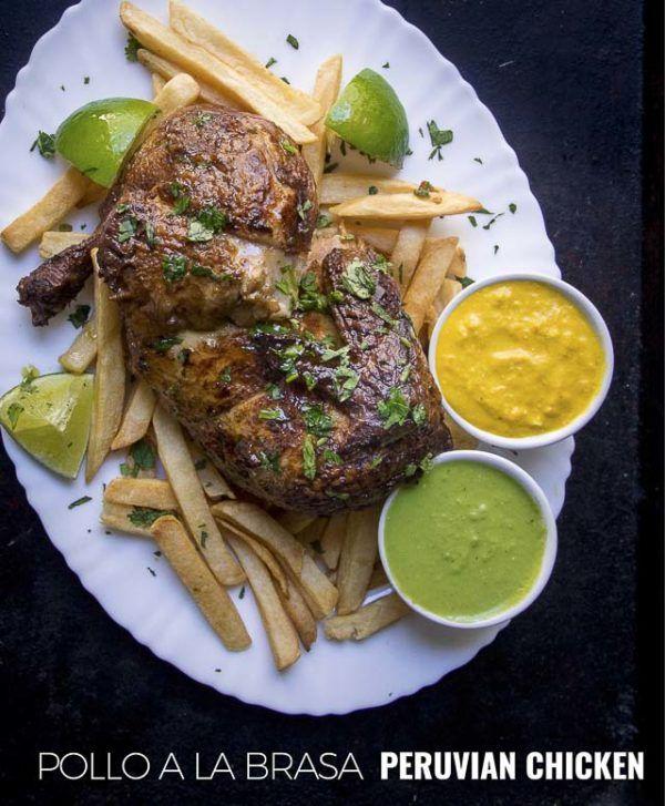 An Easy Peruvian Chicken Recipe, Pollo A La Brasa Along