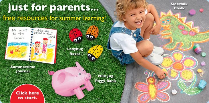 Just for parents…FREE resources for summer learning!