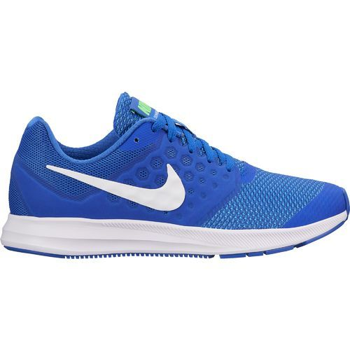 Nike Boys' Downshifter 7 GS Running Shoes (Mega Blue/White/Green  Strike/Racer Blue, Size - Youth Running Shoes at Academy Sports