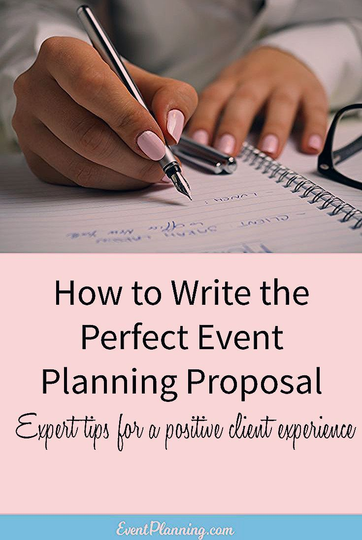 Photo of How to Write an Event Planning Proposal – EventPlanning.com