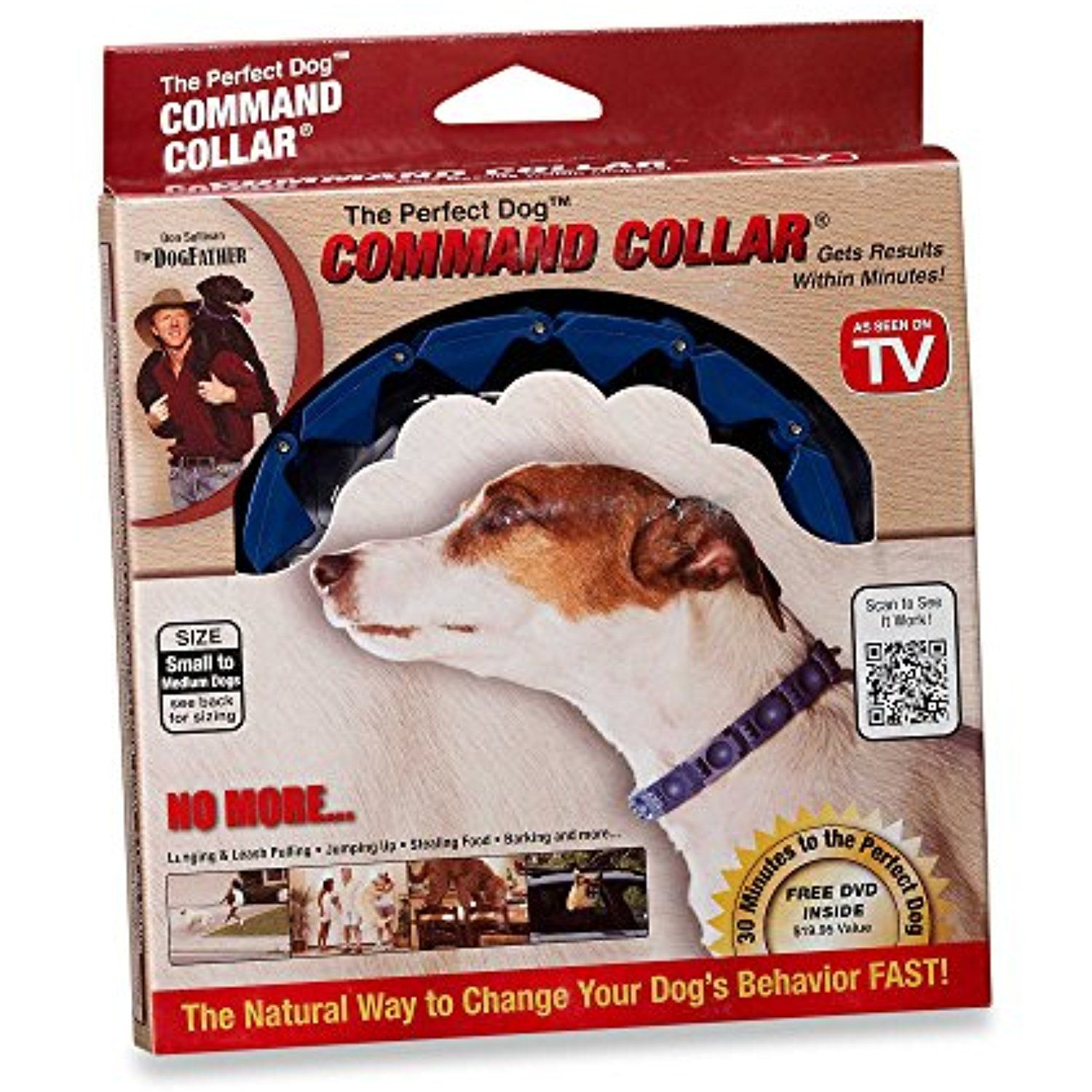 The Perfect Dog Command Collar Small Dog Training System You