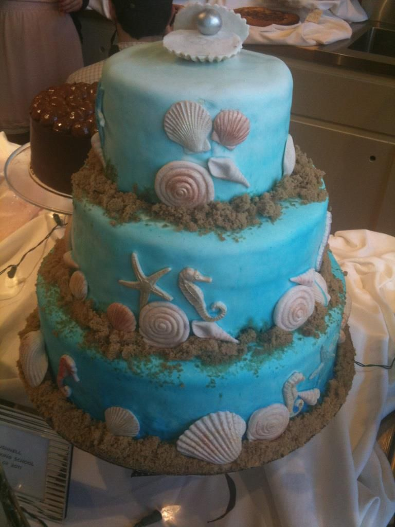 Under The Sea Cake Baby Shower Cakes Sea Cakes