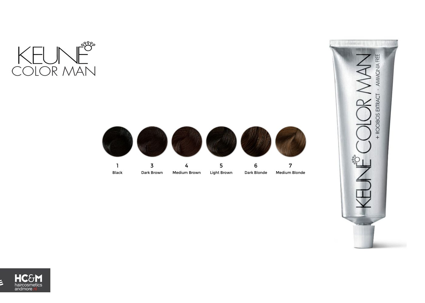 Keune Color Man Shades 2015 Hair Color Chart Brown To Blonde Color