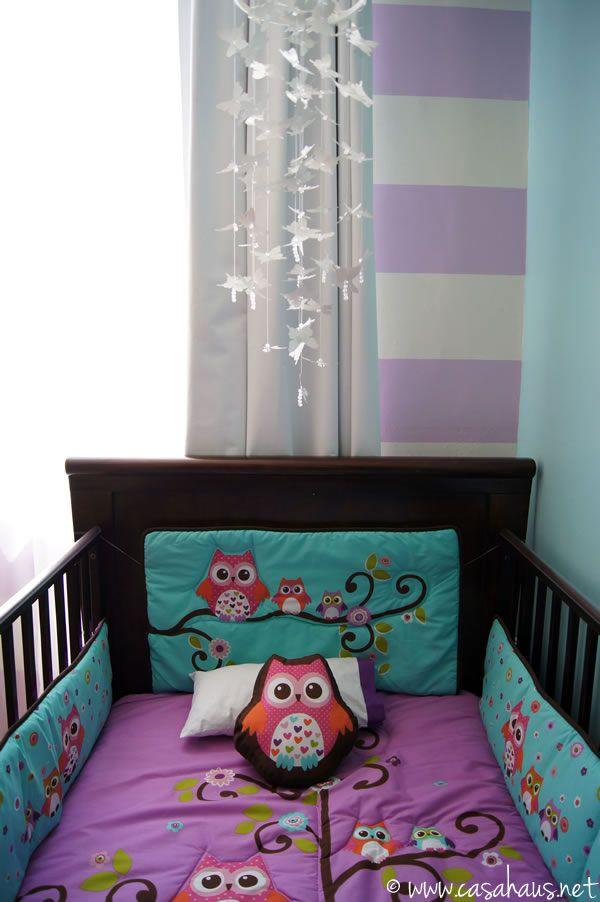 Antes y después cuarto para una bebé casa haus decoración