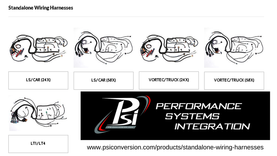 STANDALONE WIRING HARNESS-www.psiconversion.com/products