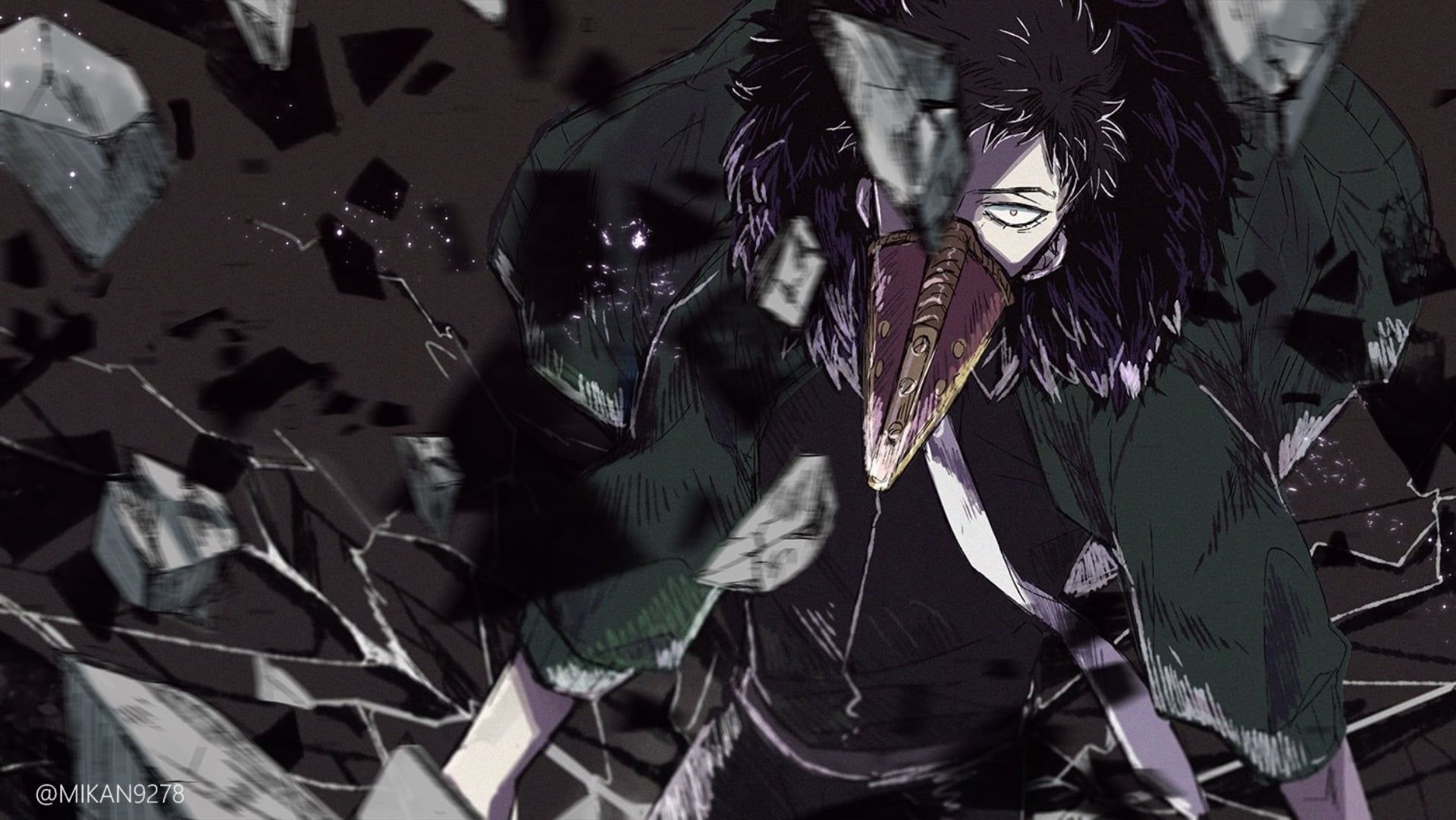 Anime My Hero Academia Kai Chisaki Overhaul My Hero Academia 1080p Wallpaper Hdwallpaper Desktop My Hero My Hero Academia Hero