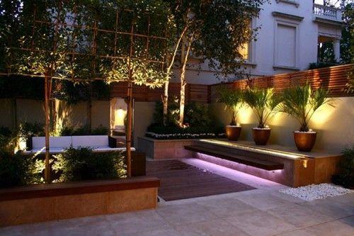 Jardin exteriores iluminacion opciones de iluminaci n for Ideas para patios exteriores
