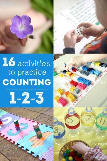 16 Counting Activities For Preschoolers