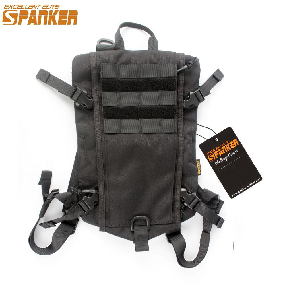 9230a6ceab4c EXCELLENT ELITE SPANKER Tactical Hydration Bag Military Hunting Camping  Storage Backpack Package Molle Vest Equipment Accessory